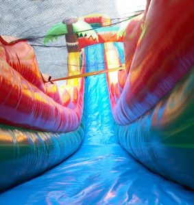 Miami waterslide rentals